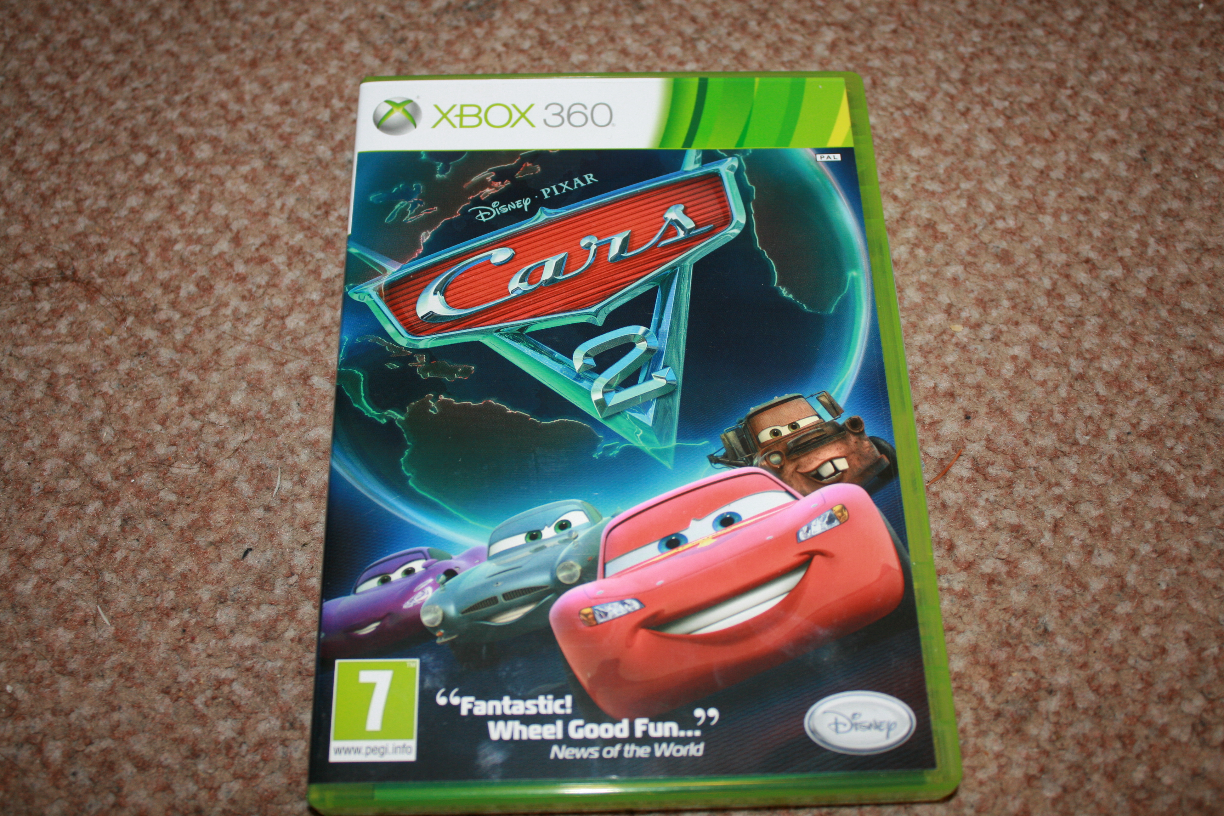 Xbox 360 Car Games : Cars the game xbox review ramblings of a suburban